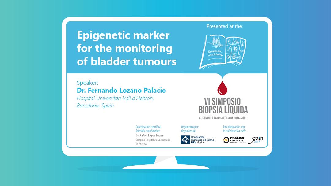Epigenetic marker for the monitoring of bladder tumours